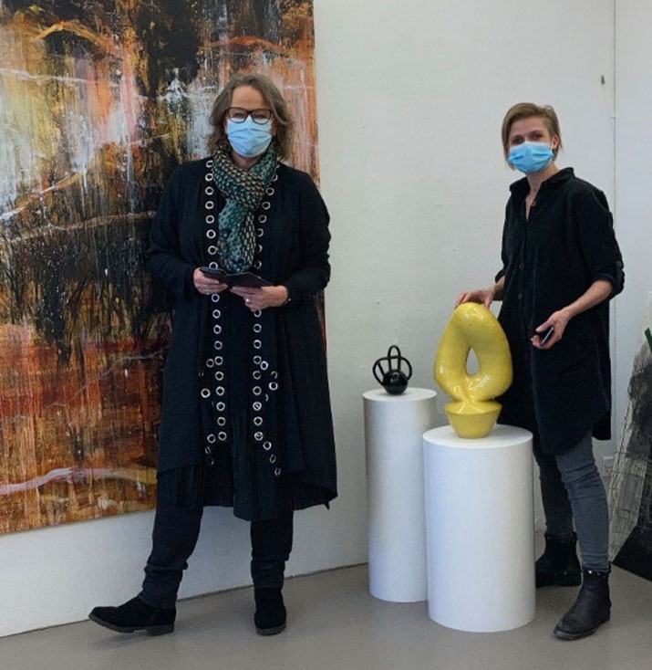 kunstformidler omtaler af gallerier cobobo conni boe boss